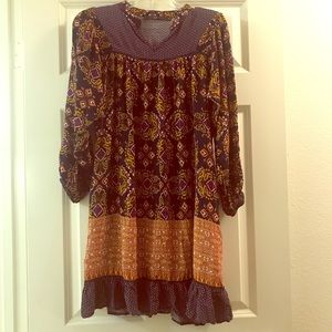 ANTHROPOLOGIE HAZEL BOHO DRESS